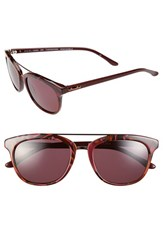 Women's Bcbgmaxazria 'Fascination' 51Mm Sunglasses Wine Marble