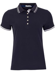 Green Lamb Claudine Club Polo Navy