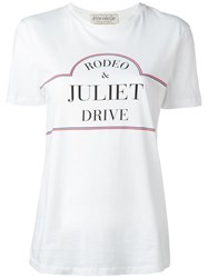 Etre Cecile Rodeo T Shir White