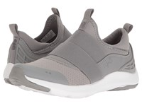Ryka Elita Frost Grey Chrome Silver Women's Cross Training Shoes Gray