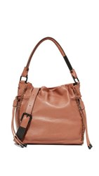 Foley Corinna Ami Drawstring Bag Honey Brown