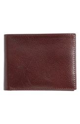 Men's Johnston And Murphy Slimfold Leather Wallet