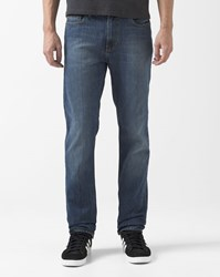 Element Medium Blue Worn Effect Slim Fit Stretch Owen Jeans