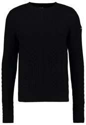 Schott Nyc Jumper Black