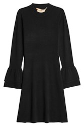81 Hours Hada Dress In Wool And Cashmere Black