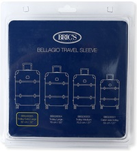 Brics Bellagio Travel Sleeve 82Cm Transparent