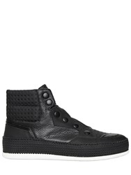 Bruno Bordese Perforated Nappa Leather Sneakers