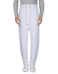 Tom Rebl Casual Pants White