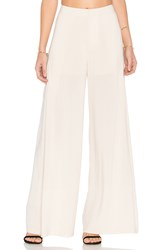 Endless Rose Pleated Pants Ivory
