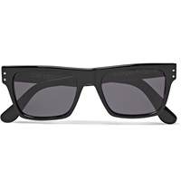 Our Legacy Faith Square Frame Acetate Sunglasses Black