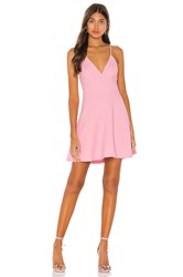Bcbgeneration Fit And Flare Mini Dress Pink