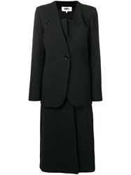 Maison Martin Margiela Mm6 Two Piece Skirt Suit Black