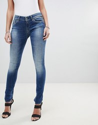 Replay Luz Skinny Jeans Blue