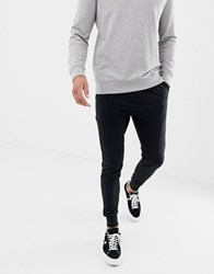 Another Influence Basic Black Slim Fit Joggers