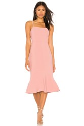 Finders Keepers Continuum Midi Dress Rose