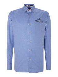 State Of Art Long Sleeve Casual Shirt Blue