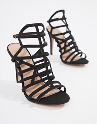 Madden Girl Heeled Sandals Black
