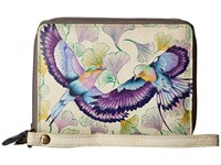 Anuschka 1143 Wings Of Hope Handbags Gray