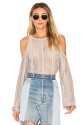 Twenty Crafted Mesh Top Taupe