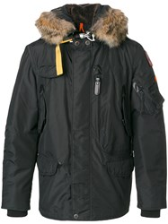 Parajumpers Padded Jacket With Hood Men Polyester Acrylic Wool Feather Down S Grey