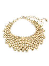 Amrita Singh Bib Necklace Gold
