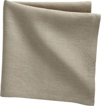 Cb2 Set Of 4 Bolt Natural Linen Napkins