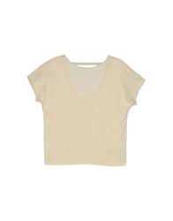 Marios Short Sleeve T Shirts Ivory