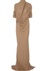 Vionnet Jersey Gown Brown