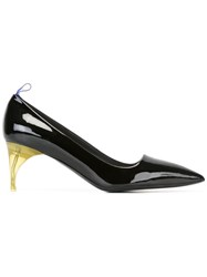 Alain Tondowsky Pointed Toe Pumps Black