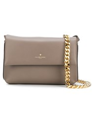 Philippe Model Chain Shoulder Bag Nude And Neutrals