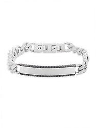 Lotus Chained Stainless Steel Bracelet Silver
