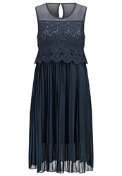 Molly Bracken Summer Dress Navy Blue Dark Blue