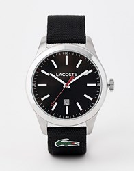 Lacoste 2010778 Auckland Black Nylon Strap Watch