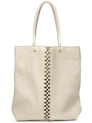Jerome Dreyfuss 'Dario' Tote Nude And Neutrals