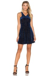 Eight Sixty Sleeveless Mini Dress Navy