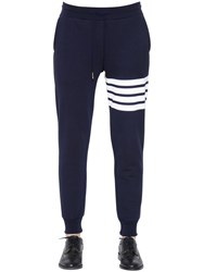 Thom Browne Intarsia Cotton Jersey Jogging Pants
