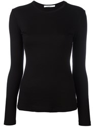 Givenchy Ribbed Sweater Women Modal Wool M Black