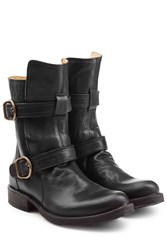 Fiorentini Baker And Leather Biker Boots