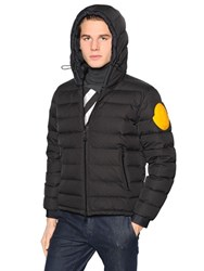 Moncler Off White Nylon Dinard Down Jacket