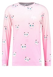 Hype Long Sleeved Top Pink Rose