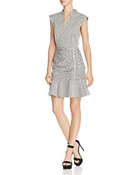 Lucy Paris Kimmy Ruched Dress 100 Exclusive White Black