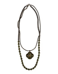 Twin Set Simona Barbieri Necklaces Military Green