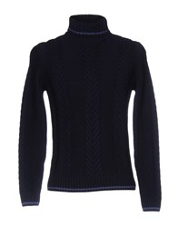 H953 Turtlenecks Dark Blue