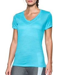 Under Armour Solid V Neck Tee Blue