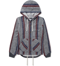 Cash Ca Grey Stripe Cardigan