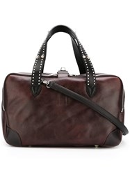Golden Goose Deluxe Brand Equipage Tote Brown