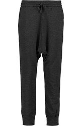 Majestic Jersey Tapered Pants Gray