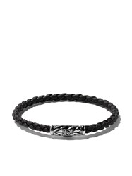 David Yurman Chevron Weave Bracelet Black