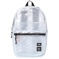 Stussy X Herschel Supply Co. Clear Lawson Backpack White