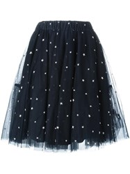 P.A.R.O.S.H. Star Patterned Skirt Blue